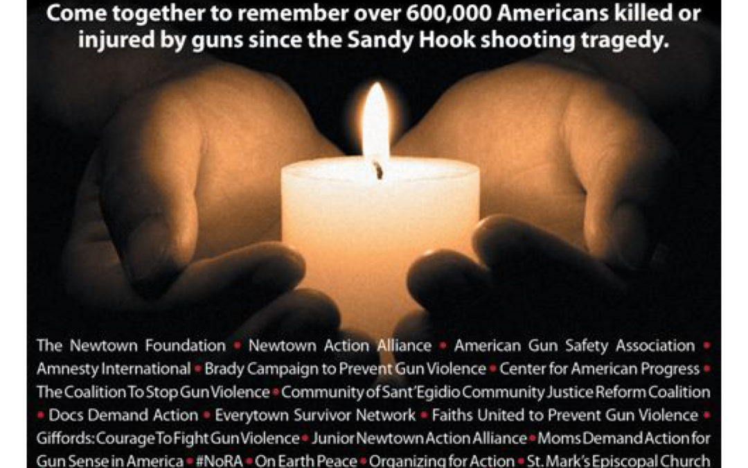 Candlelight Vigil to End Gun Violence