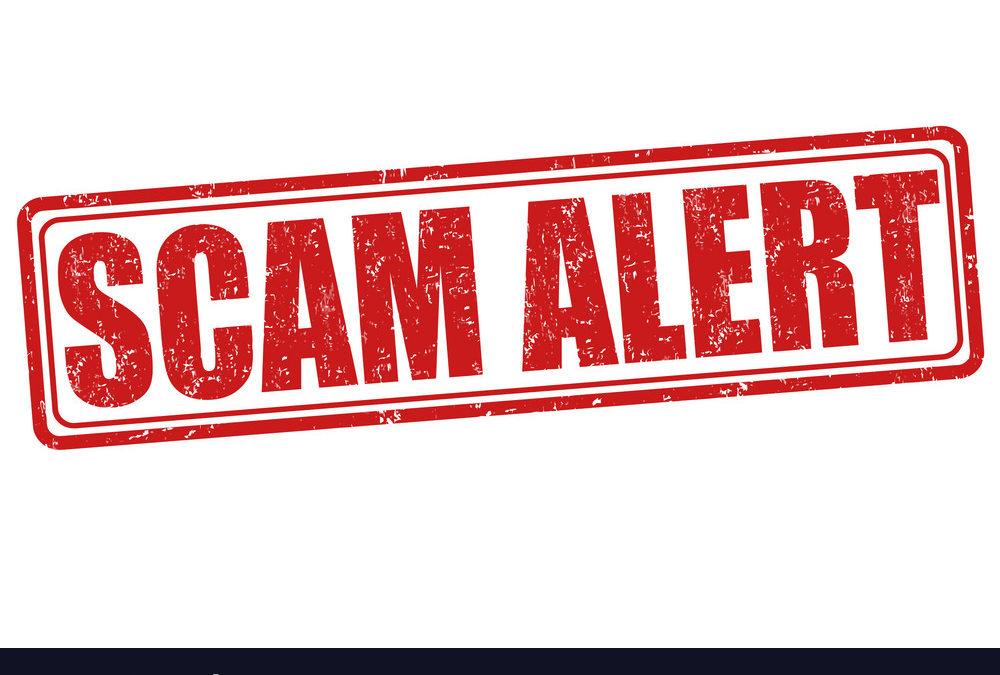 FRS: SPAM Alert on a fake Rev. Rebecca email address