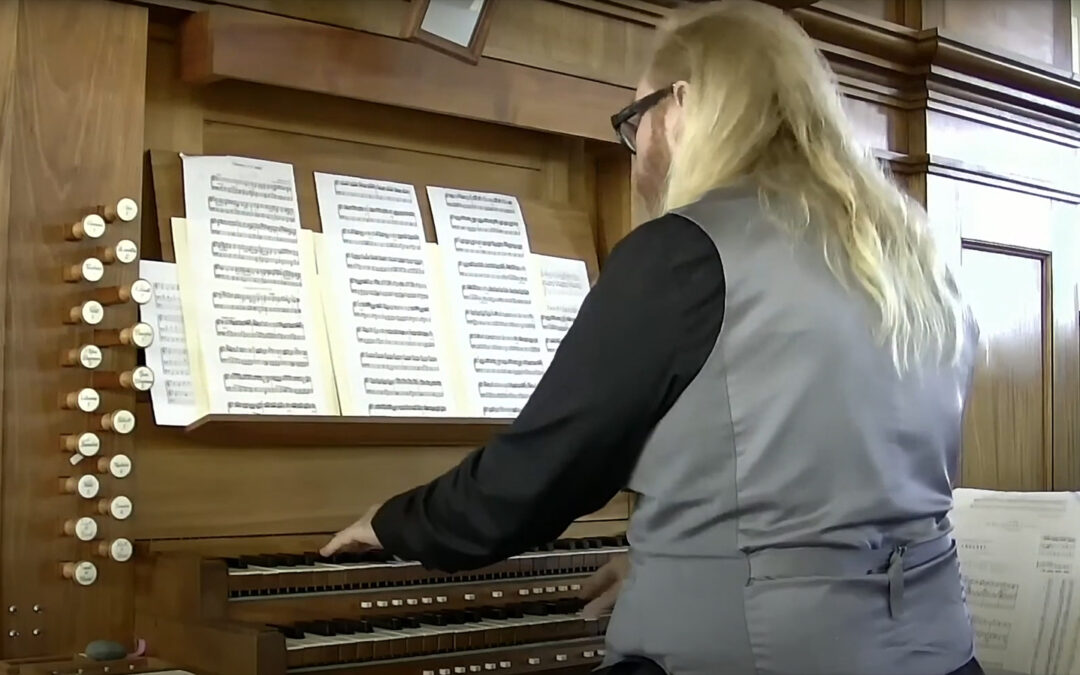 An Afternoon with the Organ: Enjoy Music While You Pledge!