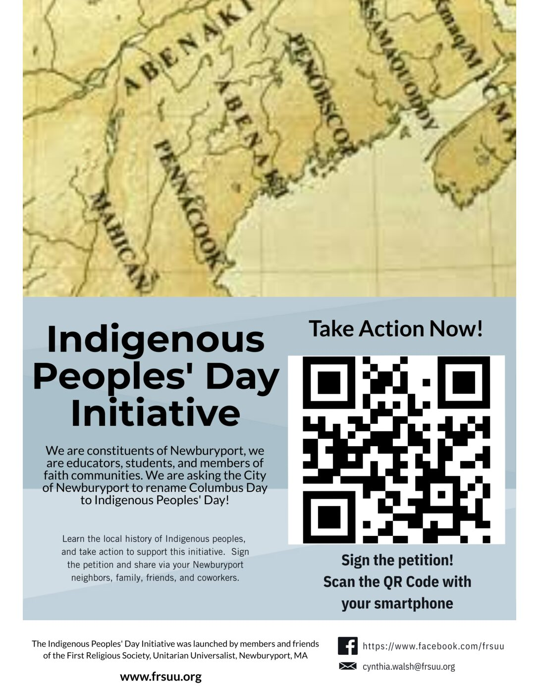 FRS Indigenous Peoples' Day Initiative